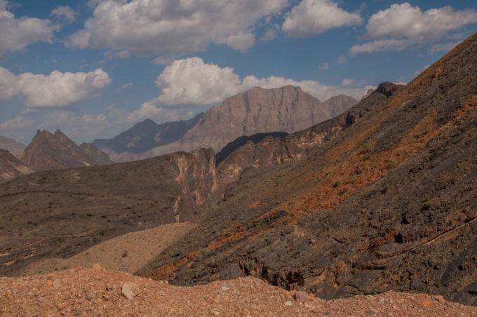 Montagnes de Sharb al Sheik