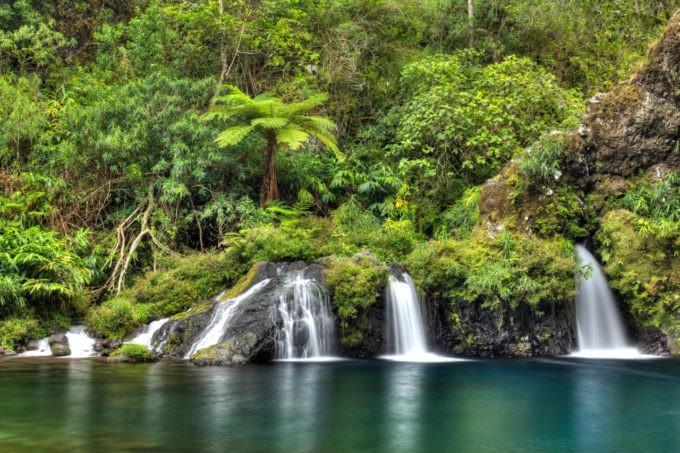 Le Trou noir à Langevin à la Réunion