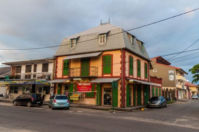 Maisons créoles à Saint Laurent du Maroni