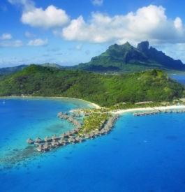 Direction Bora Bora en Polynésie française