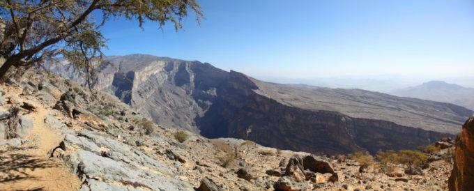 Djebel Shams, le grand canyon d'Oman