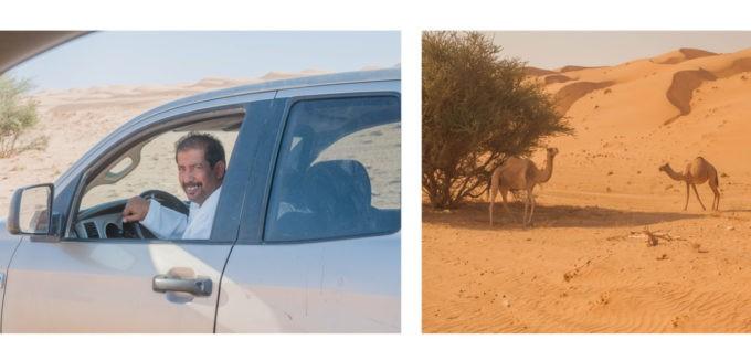 Rencontres dans le desert...