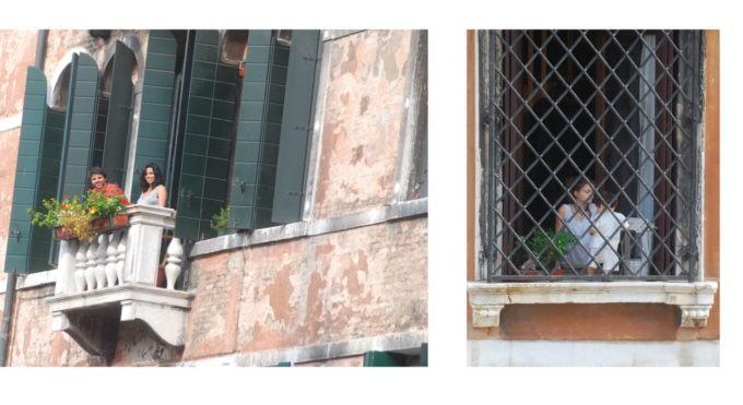 Lever les yeux est indispensable à Venise