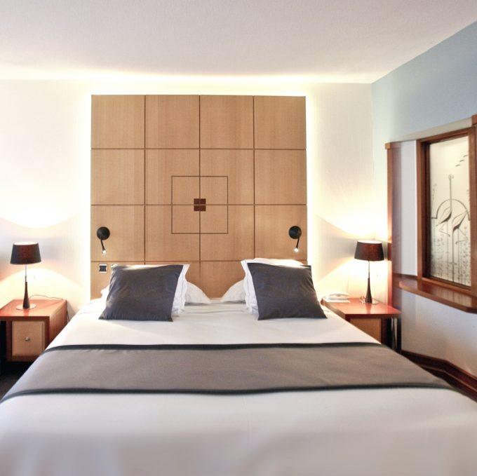 Ma chambre à l'hôtel des Flamants roses à Canet en Roussillon