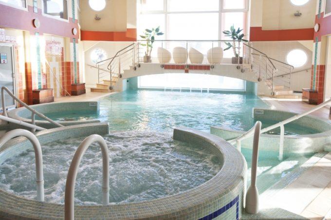 Espace aquatique du spa
