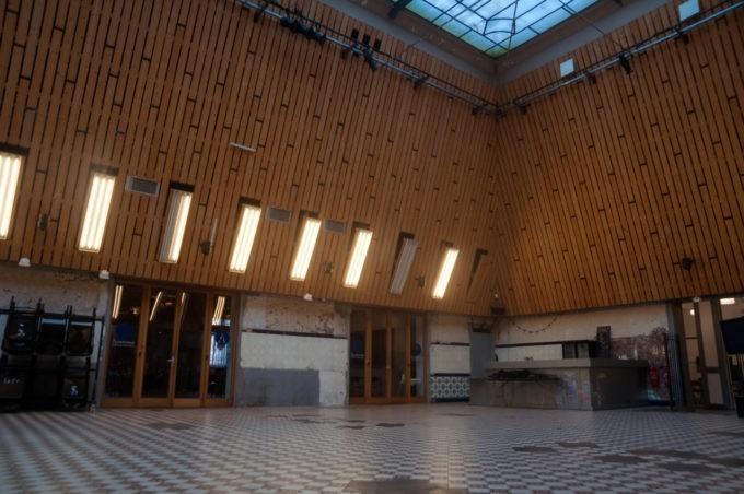 Les vieux ateliers du textile à la Condition Publique à Roubaix