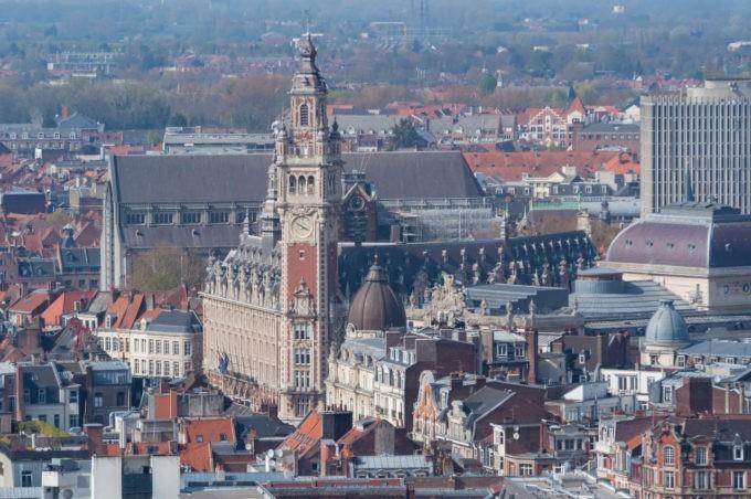 La chambre de commerce de Lille