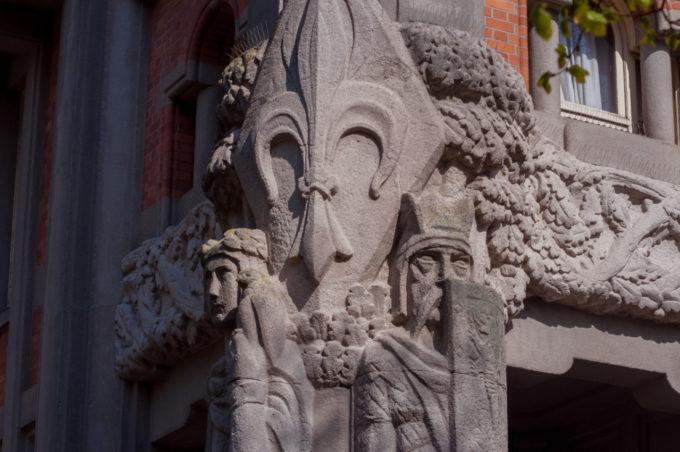 Les fresques du beffroy de Lille