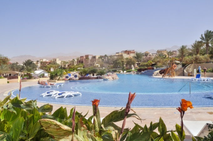 Dans le resort Movenpick à Aqaba en Jordanie