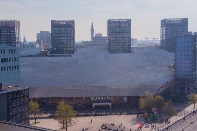 Le centre commercial de Lille