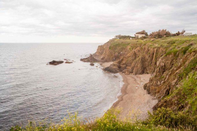 Une crique sauvage juste à côté de Collioures