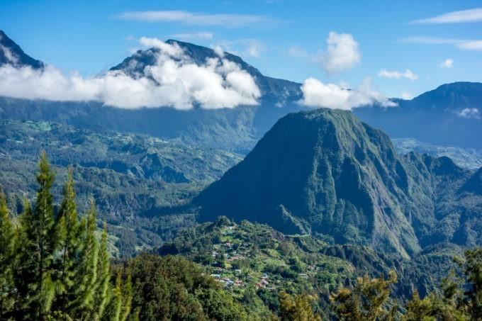 Cirque de Salazie à La Reunion