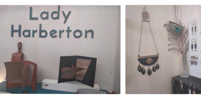 La maroquinerie de Lady Harberton, les bijoux et autres créations s'exposent au Vestiaire