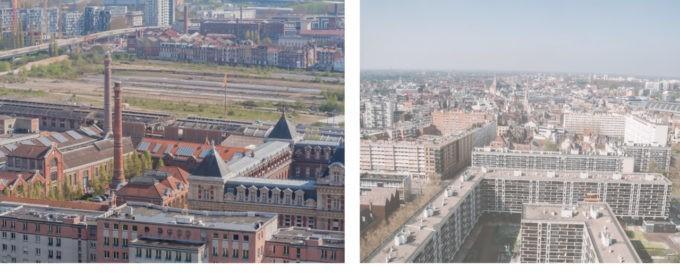 Du haut du beffroy à Lille, il y a...