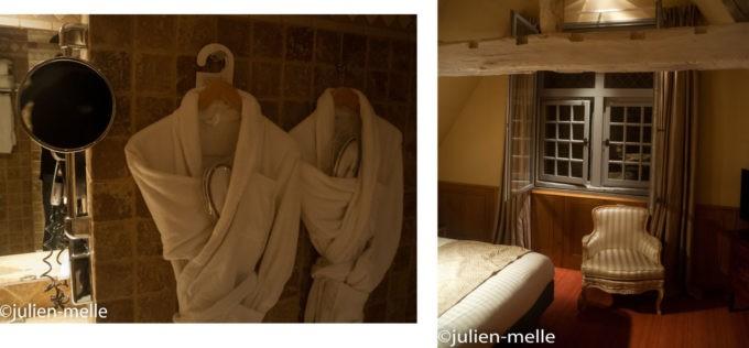 Notre chambre à l'Ermitage Gantois à Lille