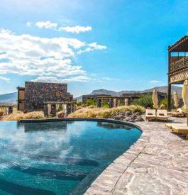 le resort 5 étoiles de Jabal Abkhar