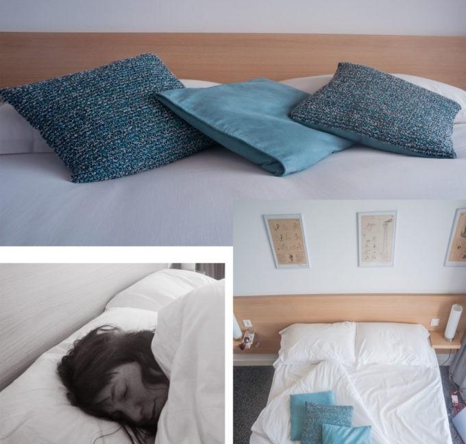 Un lit très confortable