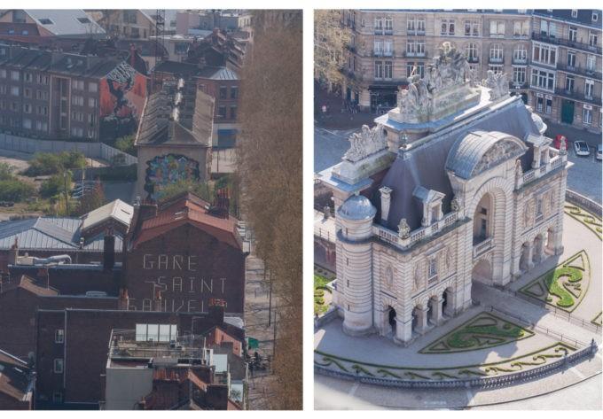 Monumental, ce Lille vu de haut...