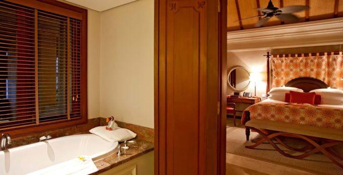 La salle de bain du Constance Prince Maurice