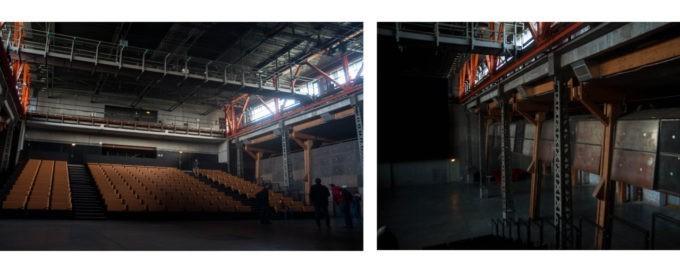 La salle de concert modulable de la Condition Publique à Roubaix