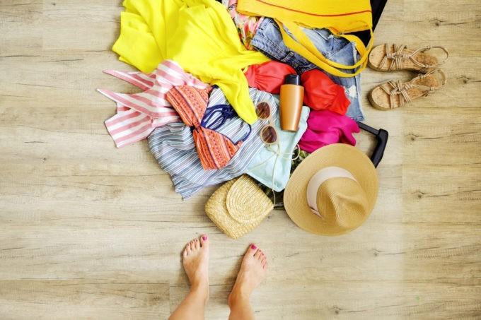 Préparer sa valise pour les vacances aux tropiques