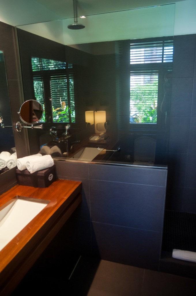La salle de bain de la suite n°22 de l'hôtel Primero Primera