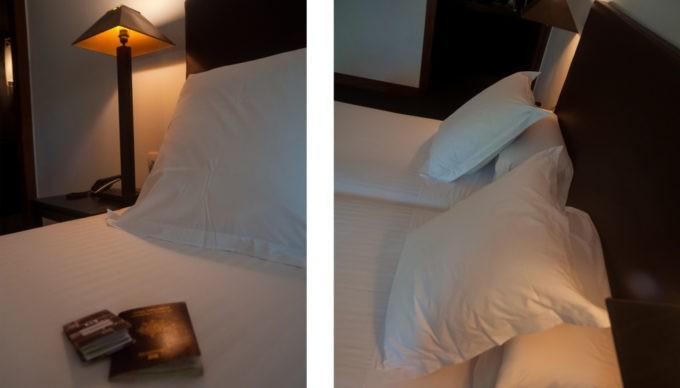 Tête de lit à l'hôtel Primero Primera