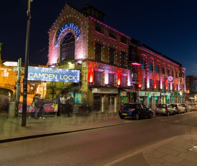 Camden Lock la nuit