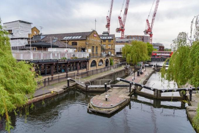 L'écluse de Regent 's canal