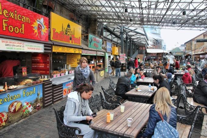 Street-food à Camden Town