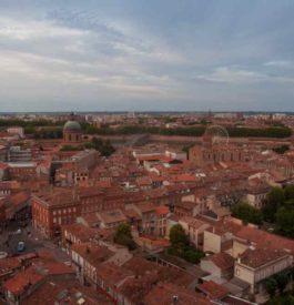 Vue imprenable sur Toulouse