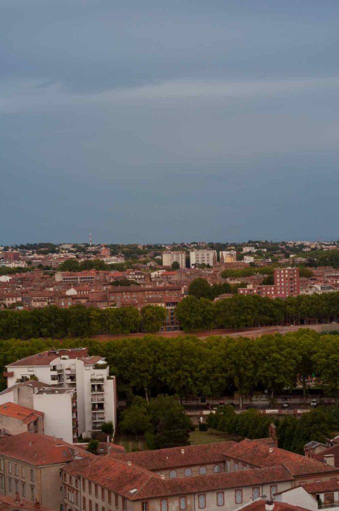 Les immeubles de Toulouse