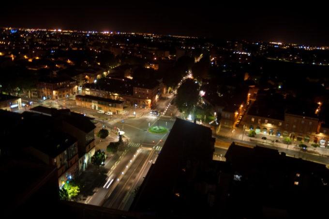 Le quartier de Saint Cyprien de nuit, quartier dynamique