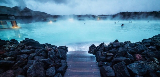 Le blue lagoon, l'immense spa naturel d'Islande