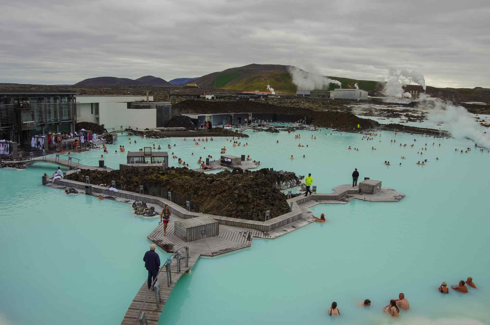 Voyager en Islande au Blue Lagoon