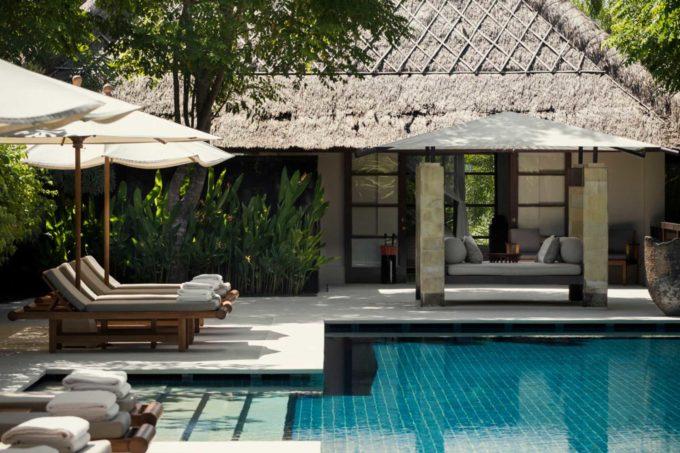 Piscines extérieures et détente totale au rendez-vous de cette cure bien-être à Bali