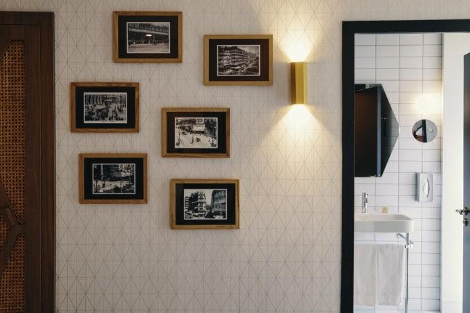 la décoration vintage de la chambre classique d'un hôtel greet