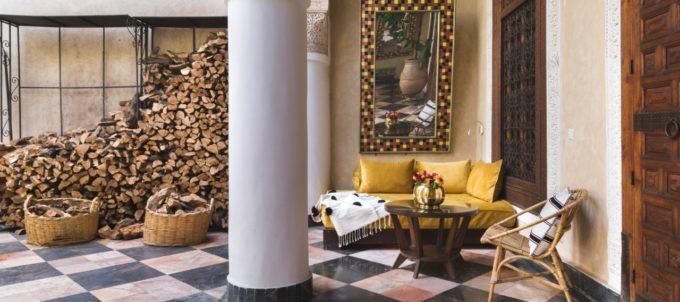 El Fenn à Marrakech est l'une des sources d'idées design de la Maison Flâneur