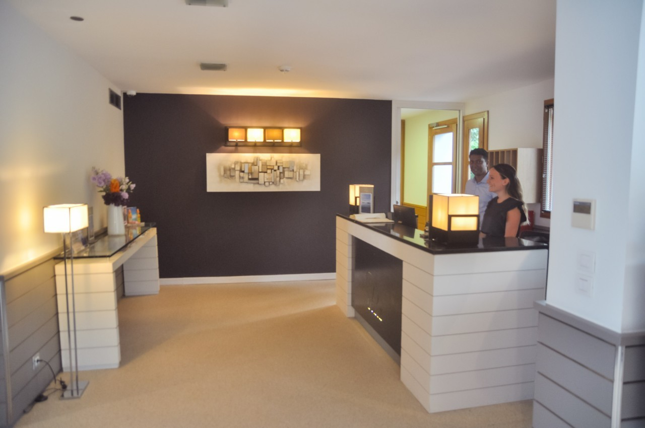 Lobby et accueil du Pinarello