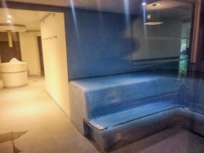 Le coin sauna et hammam