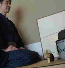 Aller à une cérémonie du thé au Japon