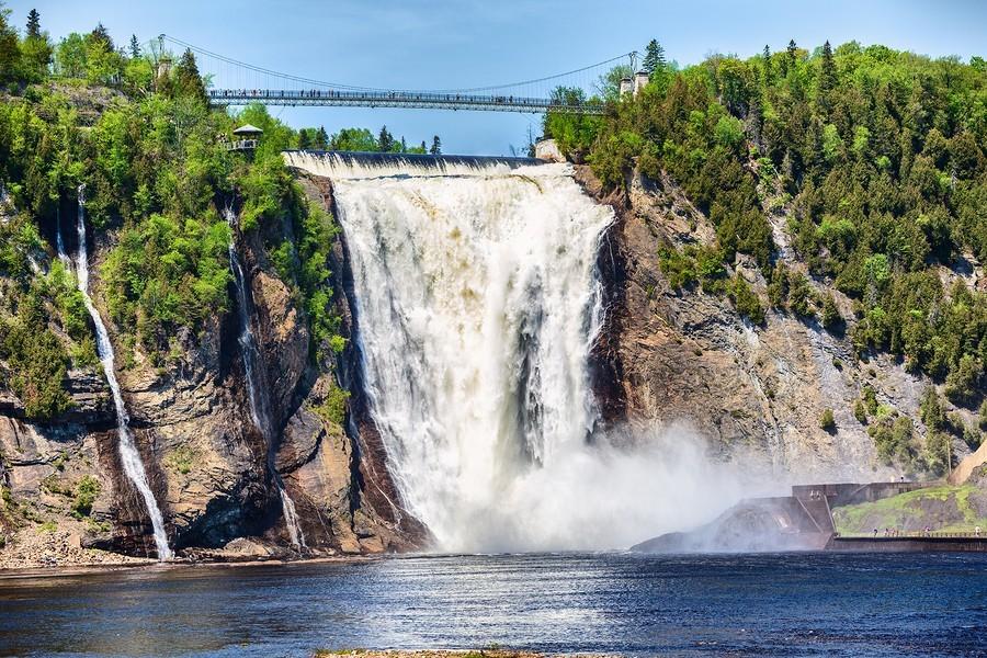Les chutes d'eau de Montmorency
