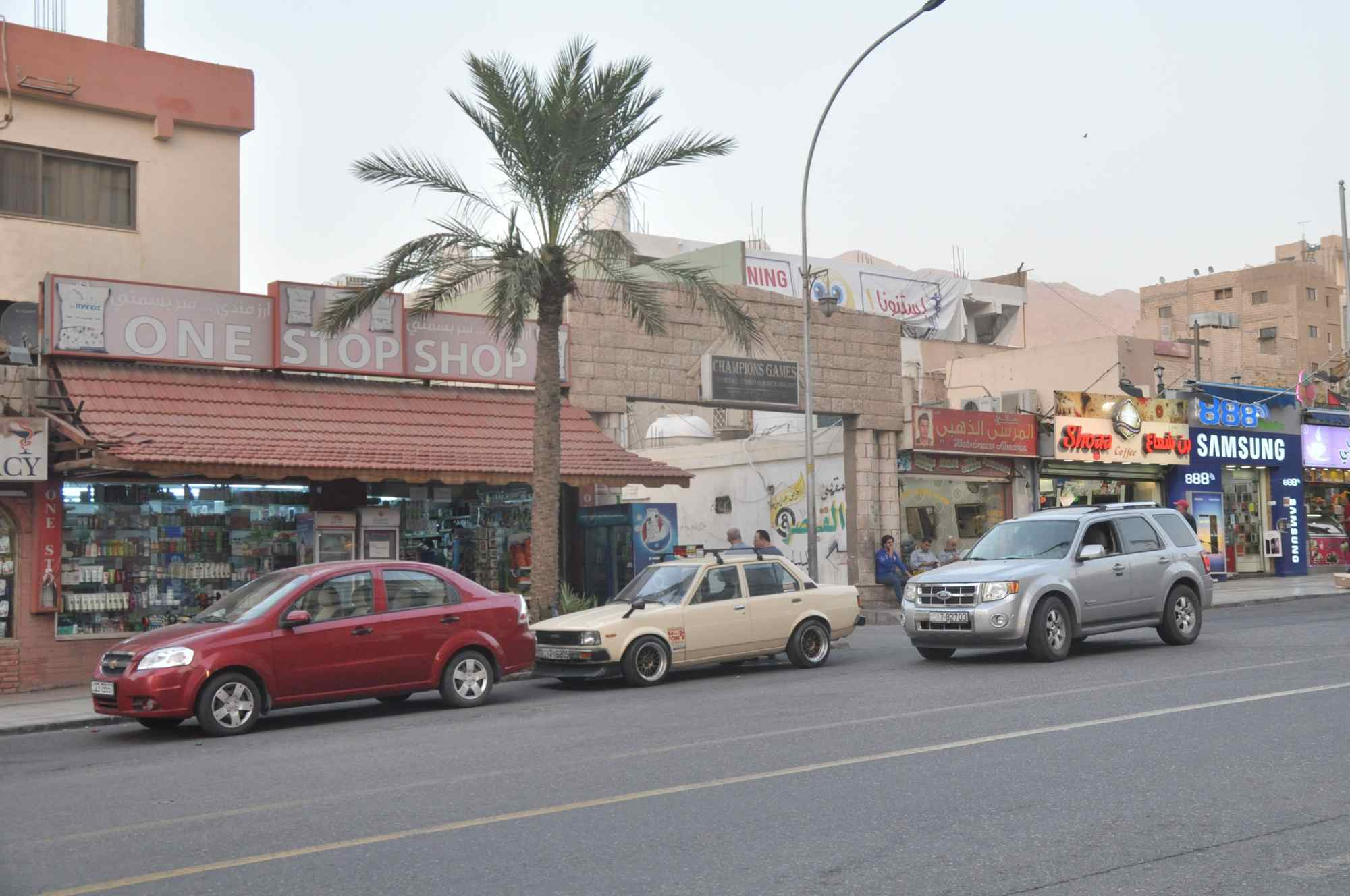 Dans les rues à Aqaba