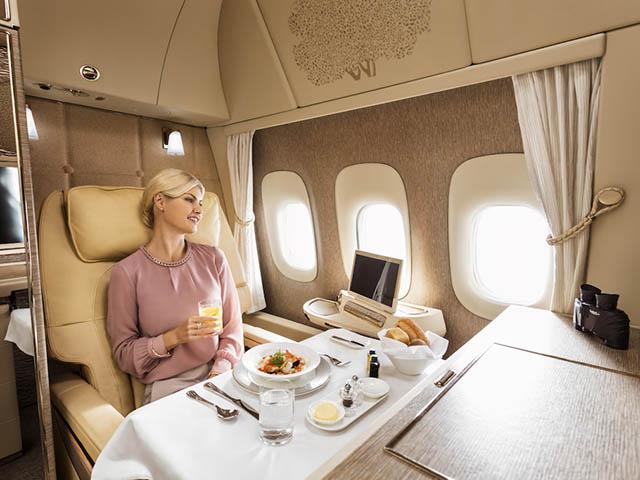 A bord avec Emirates