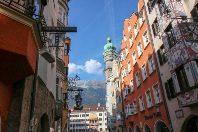 Dans les rues de Innsbruck
