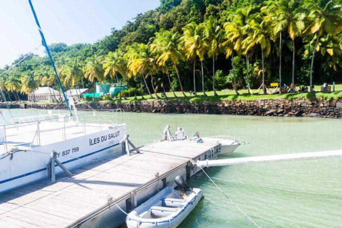 Climat tropical en Guyane sur les îles du Salut