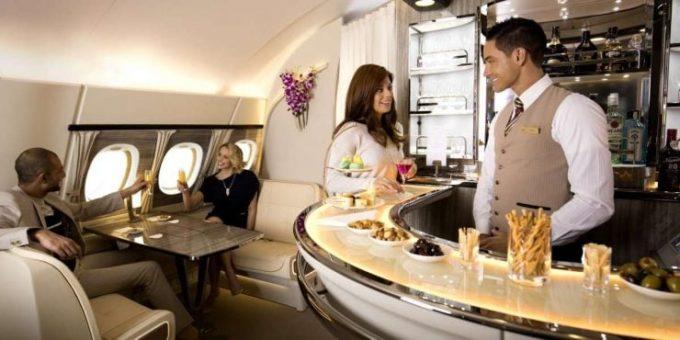 Le bar d'Emirates