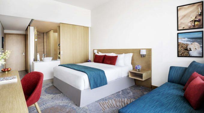 La suite supérieure du Avani hôtel à Dubaï