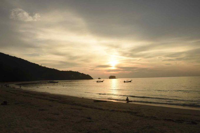 Une plage à Phuket