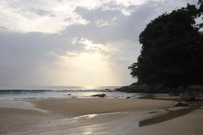 Une plage à Koh Samui